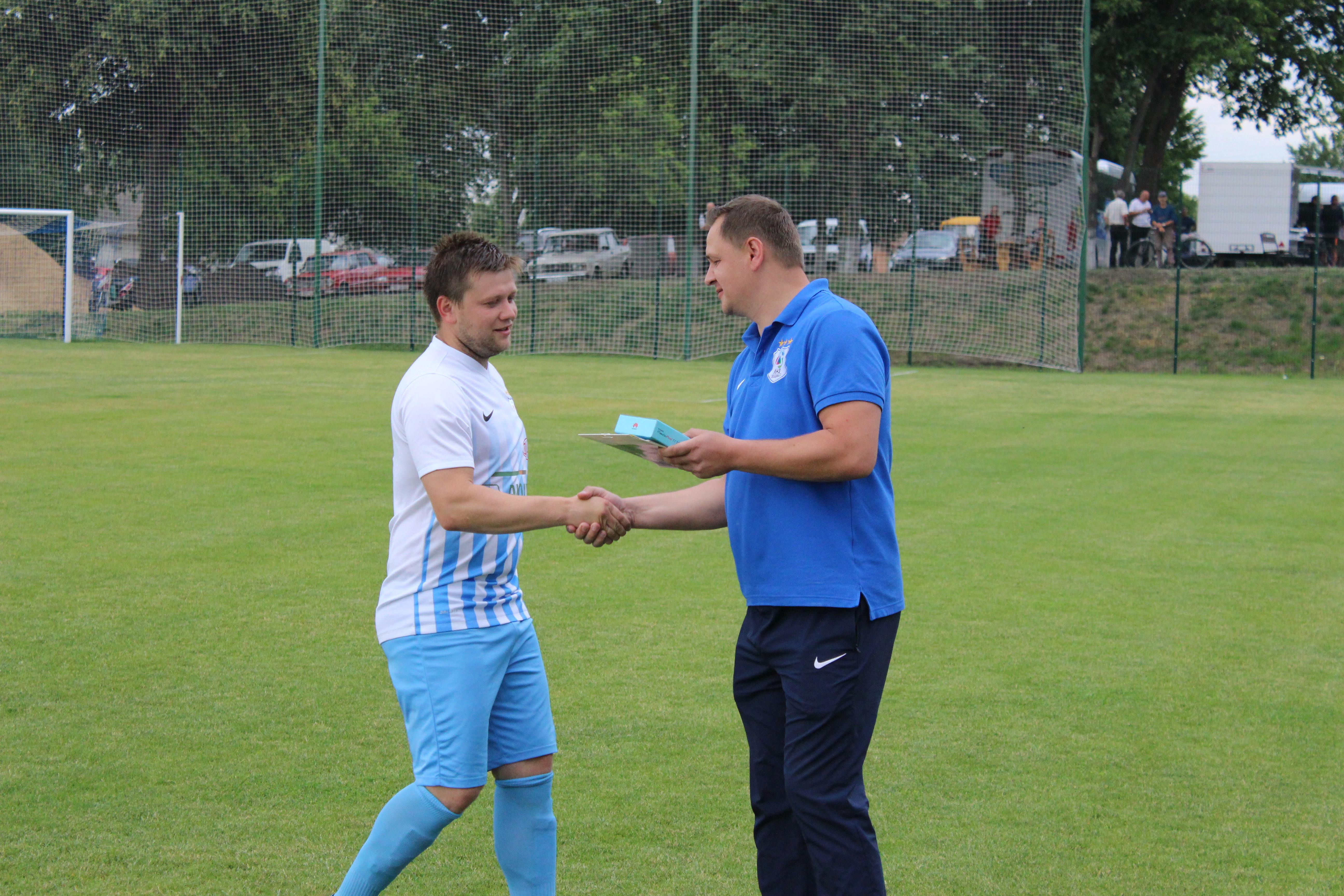 Віталій Грицай отримав коштовний подарунок за найкращий гол у травні