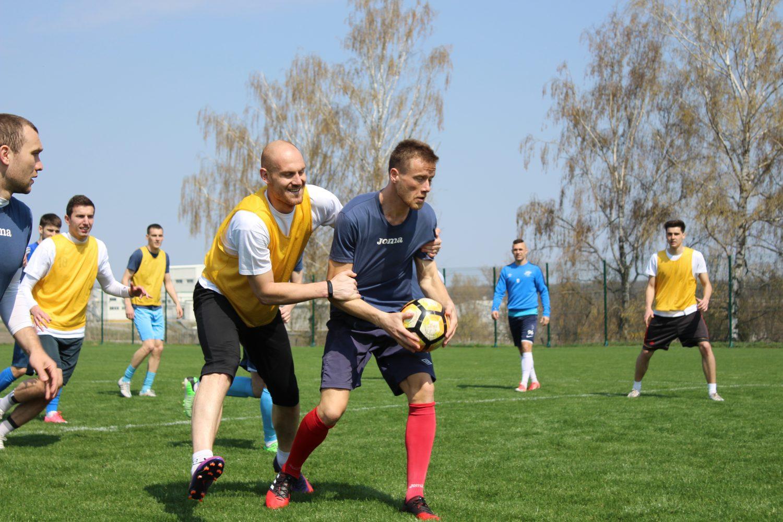 ЛНЗ провів тренування в Лебедині перед матчем Кубку України (ФОТО)
