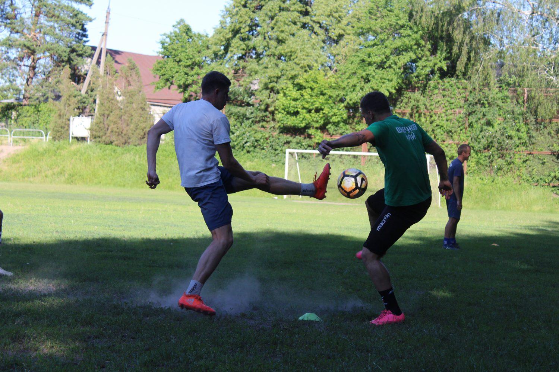 ЛНЗ-Лебедин провів тренування перед матчем з Нікою (ФОТО)