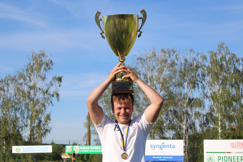 Віталій Грицай – найкращий бомбардир Кубку України серед аматорів