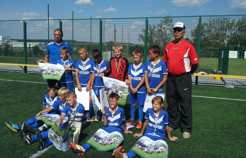 У Лебедині відбувся міжобласний дитячий турнір на призи LNZ Group