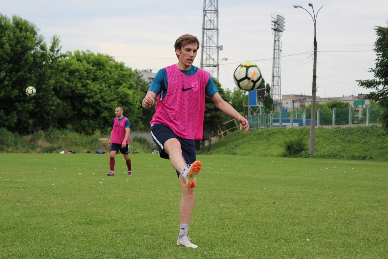 Тренування на Центральному стадіоні в Черкасах (ФОТО)