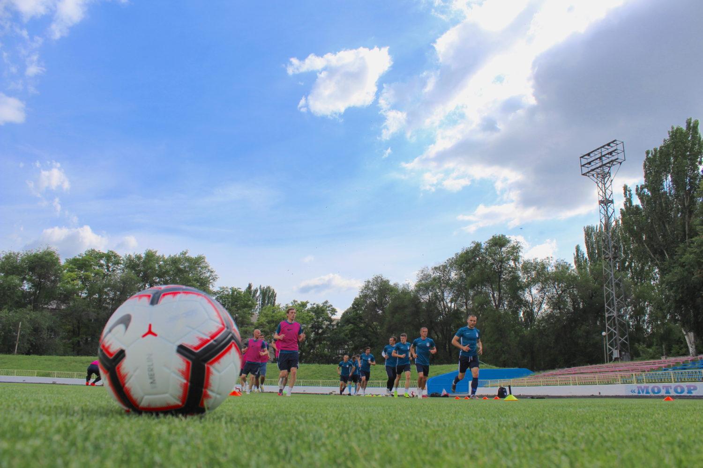 ЛНЗ провів передматчеве тренування в Запоріжжі (ФОТО)