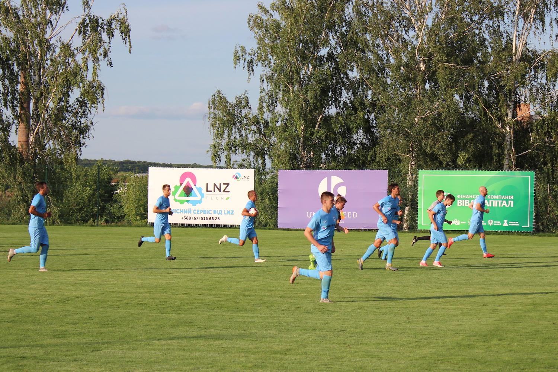 ЛНЗ в дебюті сезону ділить очки з ФК Чернігів
