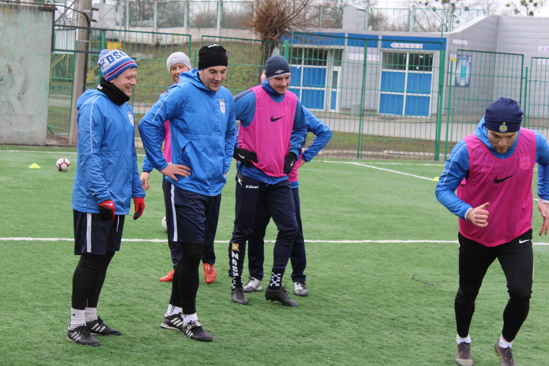 Передігрове тренування на Центральному стадіоні (ФОТО)