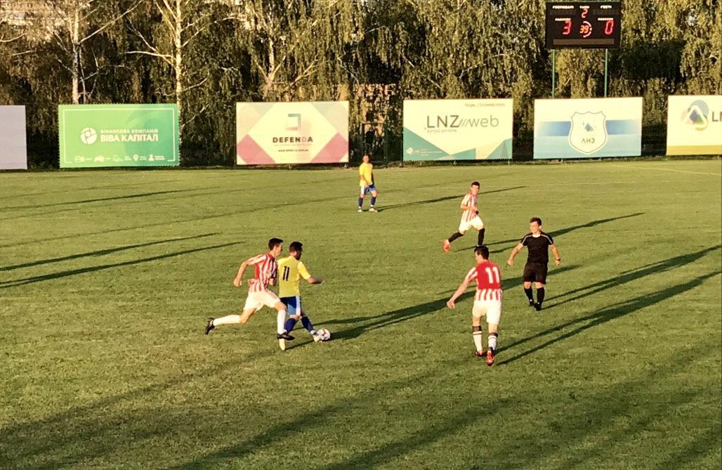 ЛНЗ здобув впевнену перемогу в Регіональній лізі