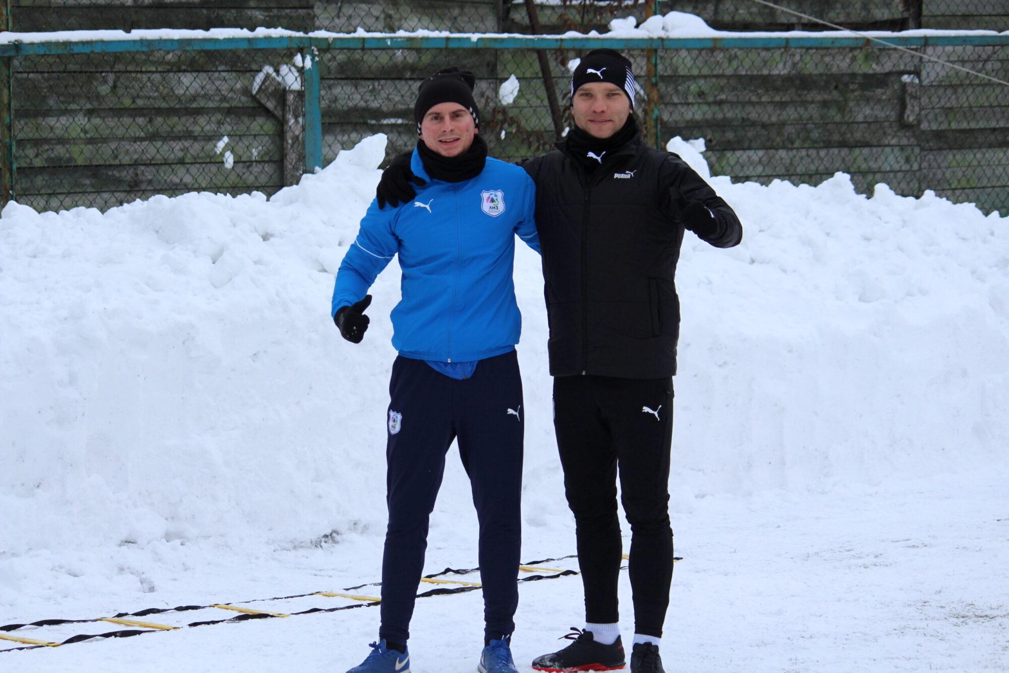 Юра Іваночко тренується з командою